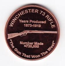 1 oz Copper Round - Winchester
