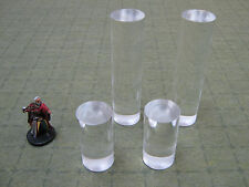 Lot of 4 Flight Stands for Dungeons and Dragons D&D Star Wars minis miniatures