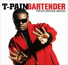 T-Pain BARTENDER Feat. Akon (Promo Maxi CD Single) (2007)
