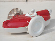 Vintage wind-up paddle wheel racing boat
