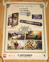 Grand Theft Auto V GTA 5 promo Special Edition Poster 42x59cm xbox 360 PS3