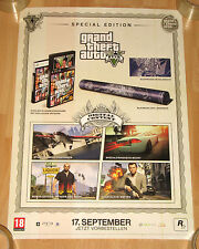 Grand Theft Auto V GTA 5 promo Special Edition Poster 42x59cm xbox 360 PS3