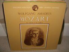 Wolfgang Mozart - Su Vida Y Su Obra - Rare Spanish Historian Vinyl in NM Cond L5