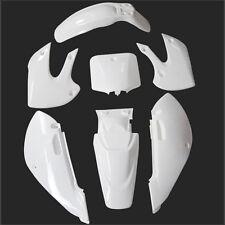 Motorcycle for KAWASAKI KLX110 DRZ110 KX65 Plastics Plastic Body Kits White