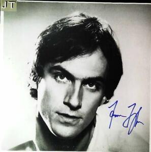 James Taylor LP Record Autographed Album and COA