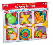 Fun Time Baby's Rattles and Teethers Gift Set Newborn 0-6 Months Toys Boys Girls