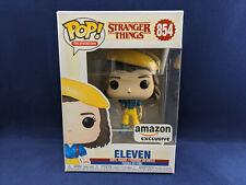 ELEVEN 854 Stranger Things Yellow Funko Pop Exclusive Vinyle Figurine Hat Amazon
