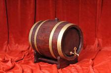 Holzfass Weinfass Eichenfass 10 Liter mit Messinghahn