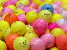 100 AAA Assorted Color Mix 3A Used Golf Balls