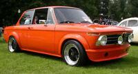 BMW 02 SERIES E10 E20 1602 1802 2002 TII Fenders Flares Wheel Arche