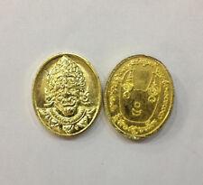 Phaya Phurisart eat ghost coin by Phra Arjarn O Thai Buddha Amulet Anti-Ghost N1