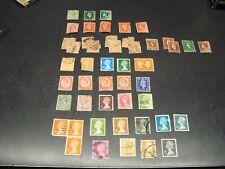 Lot of 48, Stamps, Great Britain English England Uk, Vintage & Modern (772af)