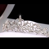 Bridal Wedding Princess Crystal Hair Tiara Crown Comb Headpiece Bridesmaid US