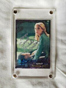 Buffy the Vampire Slayer Trading Card – Autographed – Sarah Michelle Gellar