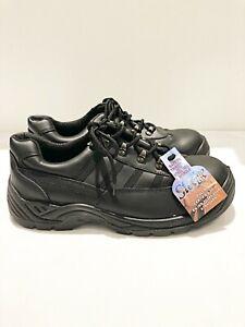Mens Portwest Steelite Black Safety Shoe 'FW25' UK Size 12