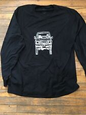 Toyota land Cruiser FJ60 60 series Landcruiser Tshirt Black Large long sleeve