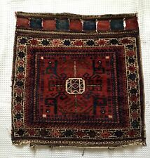 Antique Tribal Baluch Bag Face Rug