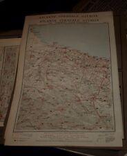 BARLETTA - MATERA 1925 ATLANTE STRADALE D'ITALIA TCI Foglio n. 35