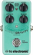 Tc Electronic HyperGravity Compressor Pedal with TonePrint New Free 2Day Deliver
