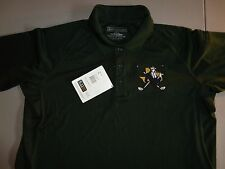 NWT SEWN Dark Green 5.11 Tactical Polyester Performance Polo Golf Shirt Adult L