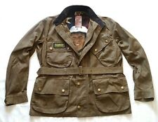 BNWT SUPER RARE BARBOUR STEVE MCQUEEN MOTORCYCLE STYLE JACKET - XXL  -  rrp £295