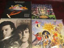 "TEARS FOR FEARS MFSL SONGS FROM BIG CHAIR & SEEDS OF LOVE SET+10"" & RULE WORLD"