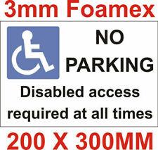 Foamex Business Signs