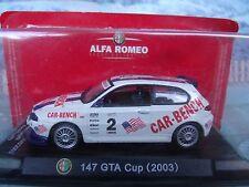 1/43 Magazine Series Alfa Romeo  147 GTA cup 2003
