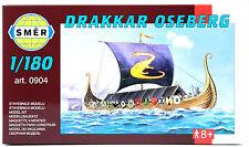 SMER Wikingerschiff DRAKKAR OSEBERG, Bausatz 1:180