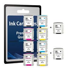 10 Ink Cartridge for HP 88XL Officejet Pro K5400 K5400DN K5400DTN K550 K550DTN C