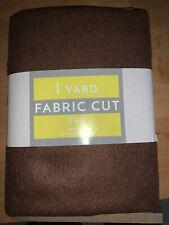 New listing 1 Yard Brown Fabric Felt Craft 36x72