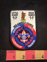 Boy Scouts NLYT MID-AMERICA COUNCIL LITTLE SCOUT SIOIX RANCH Patch 80B4