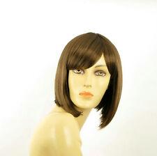 Perruque femme courte châtain clair doré BRENDA 12
