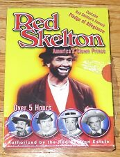 Red Skelton - America's Clown Prince (DVD, 2004, 2-Disc Set) Over 5 Hours - NEW*