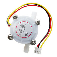 0.3-6L/Min DC 5-24V Water Flow Hall Sensor Flowmeter for Coffee Maker L6