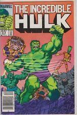 THE INCREDIBLE HULK #314 DEC MARVEL COMIC BOOK 1985