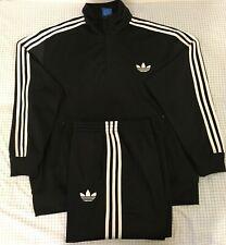 Adidas Originals ADI-Firebird Tracksuit Black White Size 2XL