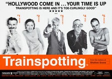 Trainspotting Poster print A4 260gsm