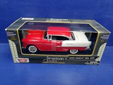 Motor Max 1955 Chevy Bel Air Die Cast 1:24 American Classics