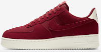 Nike Air Force Max 1 '07 Suede Men's Running Shoes Red Crush-Sail AO3835-600 12