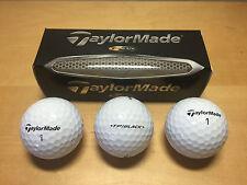 New - TAYLORMADE - 3x Bolas Golf Ball - TP Black - Nuevas