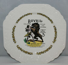 Lord Nelson Pottery - Square Bovril Plate - Vintage/Retro/Kitsch - VGC