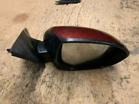 2011 MAZDA 6 5 DOOR  DRIVER SIDE ELECTRIC  POWER FOLD DOOR WING MIRROR RED