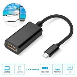 USB-C zu HDMI Adapter 4K UDH Typ C auf HDMI Samsung Galaxy MacBook Huawei NEU