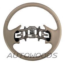 Medium Prarie Tan F150 F250 F350 Leather Steering Wheel - NEW! 1997-1999