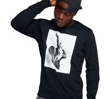 Nike Jordan Crew Neck Sweatshirt Black Size XXL Men Sportswear Flight 860348 010