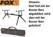 Fox Horizon Pod Dual 4er Rod Pod, Rutenauflage für Karpfenruten, Rutenhalter