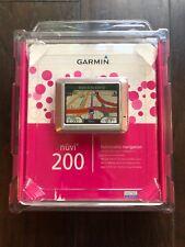GARMIN Nuvi 200 Pink Navigation GPS SEALED Unopened Packaging