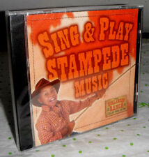 Sing & Play Stampede Music - CD - **BRAND NEW/SEALED** Avalanche Ranch