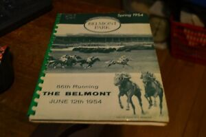 BELMONT 86th RUNNING 1954 SPRING STAKES BOOKLET HORSE RACING BOOK HISTORY
